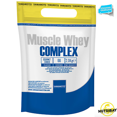 Muscle Whey YAMAMOTO NUTRITION  COMPLEX 2 kg PROTEINE SIERO DEL LATTE
