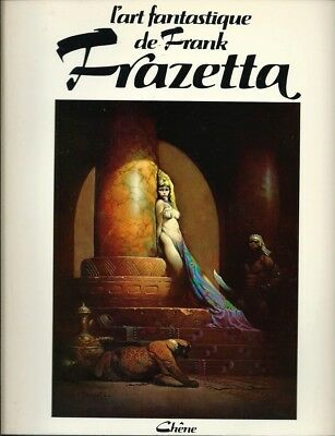 Eo 1976 Betty Ballantine : L'art Fantastique De Frank Frazetta, Tome 1
