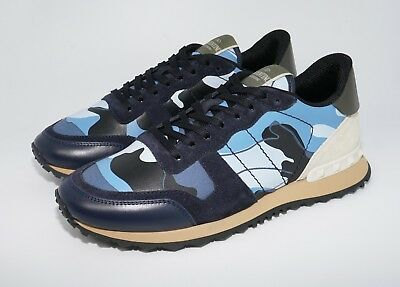 8e1c78b27117 VALENTINO GARAVANI MEN S Rockrunner Camo Leather Sneakers