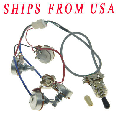 ORIGINAL GUITAR PICKUP Pro Wiring Harness QUICK CONNECT for ... on