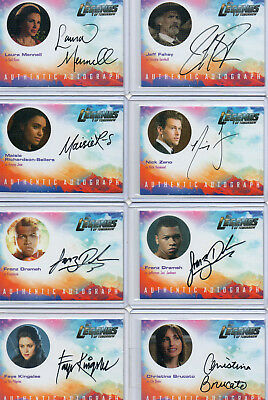 DC Legends Of Tomorrow  -  Autograph & Wardrobe Card Selection NM  Cryptozoic
