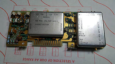 Hp Agilent 8552B SPECTRUM ANALYZER BOARD 8552-60149