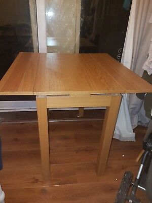 Ikea Bjursta Extendable Dining Table 90 Cm