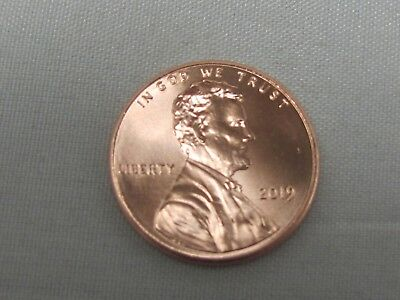 2019 P - Lincoln Shield Cent - IN STOCK
