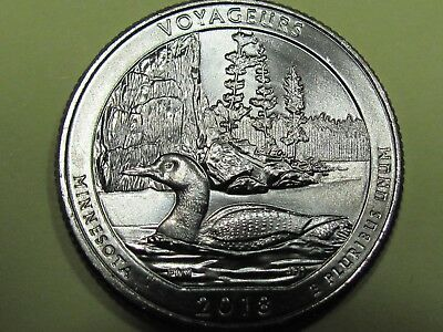 2018-P  Voyageurs National Park Quarter - Gem Uncirculated