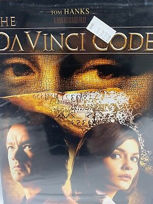 The Da Vinci Code DVD Full Screen Two-Disc Special Edition New Sealed
