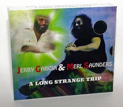 Jerry Garcia & Merl Saunders - 4Cd - A Long Strange Trip - Gold Discs - Oms