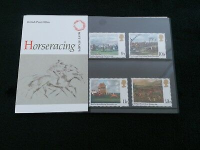 gb stamps presentation pack HORSE RACING 1979