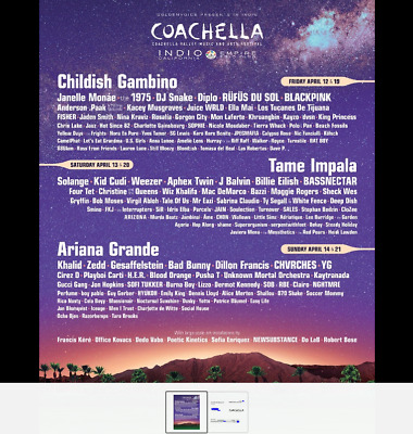 Coachella 2019 Weekend 2 GA with Tent Camping