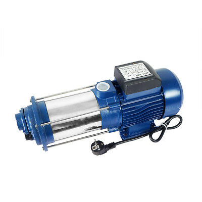 1.5HP 1100W Centrifugal Jet Water Pump 6000L/H Max 90m Stainless Steel 230V/50HZ