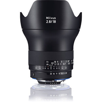 New ZEISS Milvus 18mm f/2.8 ZF.2 Lens for Nikon F Mount Made in Japan