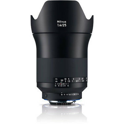 New ZEISS Milvus 25mm f/1.4 ZF.2 Lens for Nikon F Mount Made in Japan