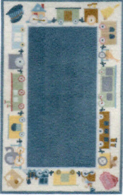 """1:48 Scale Dollhouse Area Rug 0001751 - approximately 1-7/8"""" x 3"""""""