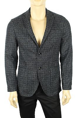 New Mens Tommy Hilfiger Notch Lapel Wool Plaid Sport Coat Blazer Jacket 38R $399