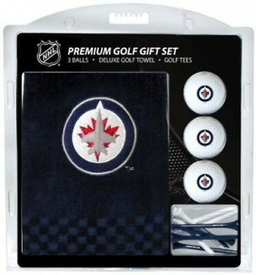 Team Golf 15920 Winnipeg Jets Embroidered Towel Gift Set. Shipping Included