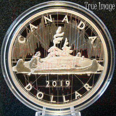 2019 Royal Canadian Mint Lore Back to Concept 2 OZ Pure Silver Proof 2-Coin Set
