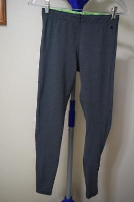 791898d82844c Women's Champion Solid Gray Athletic Running Pants Leggings Size Small