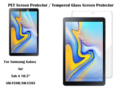 For Samsung Galaxy Tab A 10.5 Tempered Glass / PET Screen Protector Film