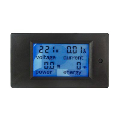 LCD Display Digital Current Voltage Power Energy Multimeter Ammeter Voltmeter WQ