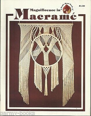 Magnificence in Macrame Turk's Head Series Vintage Pattern Instruction Book NEW