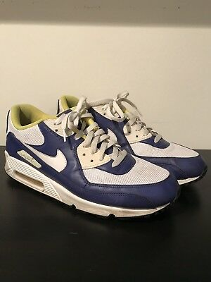 NIKE AIR MAX+ 2012 White Black- Bright Mango Bright Blue Men s 13 ... e20ada3d5611
