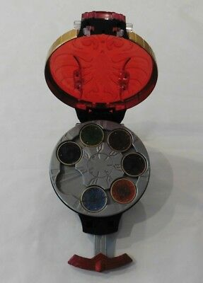 BANDAI 2010 Hand Held Spinner - Disks included - wrist strap  (M)