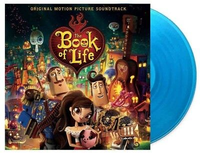 The Book Of Life Original Motion Picture Soundtrack LP on Blue Vinyl New Sealed