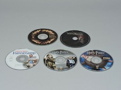 5 Special Feature DVD Collection: Harry Potter, Forest Gump, Pirates Black Pearl
