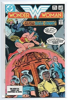 Wonder Woman vol.1 #309 - Black Canary - Huntress Back Up Story - 1983 - NM