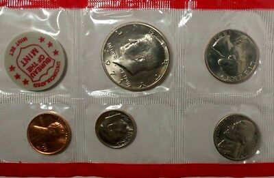 1971-P-D US Mint Set 11 Coins w/ 2 Kennedy HD  18soc1401 Only $1 for Shipping