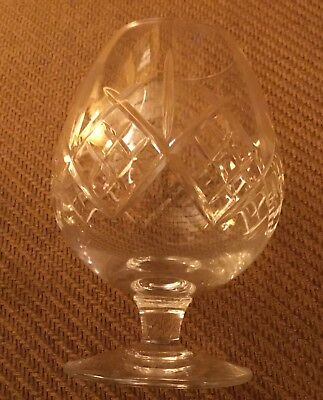 Edinburgh crystal lomond Brandy glass