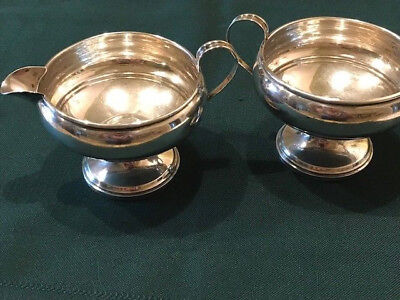 Revere Silversmiths Sterling Silver Cream and Sugar Set - 532