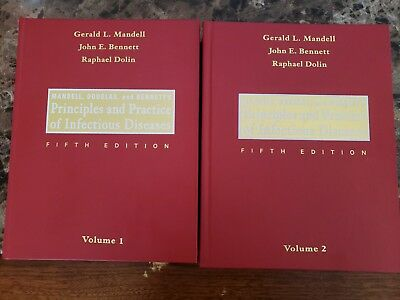 mandell douglas and bennetts principles and practice of infectious diseases 2 volume set 8e