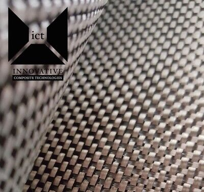 "Carbon Fiber Fabric / Cloth:  Plain Weave - 5.7 oz,  3K, 50"" x 24"" (auto/marine)"