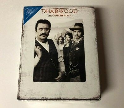 New Factory Sealed Deadwood The Complete Series Blu Ray