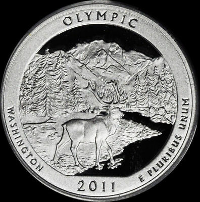"""2011-S 25C ATB Quarter Olympic ws GDC-CLAD """"Only 50 Cents for Shipping"""""""