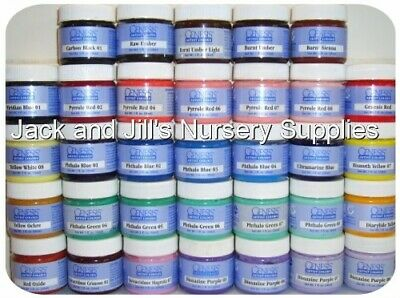 GENESIS HEAT SET PAINTS x 5 gram TUBS ~ LARGE COLOUR SELECTION TO CHOOSE FROM!