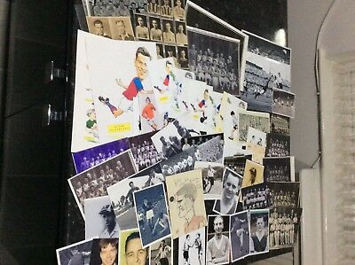 Lot 22 - Many Old England, Scotland, Burnley Photographs Of Ex Players Rare