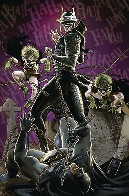 Batman Who Laughs #4 Cvr B Kaare Andrews Variant Pre-Order For Midapril!