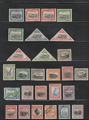 Mozambique Company stamps, nice assortment, mostly MHOG, pre 1920 good value!