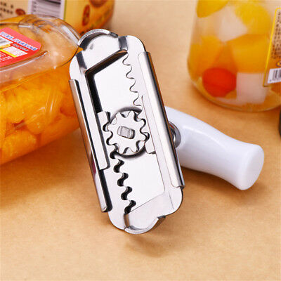 Professional Stainless Steel Can Bottle Opener Jar Lid Wrench Twister Remover