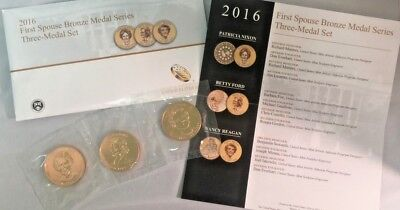 2016 First Spouse Medal Set In Original Mint Packaging Sold Out at US Mint!