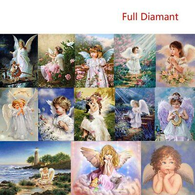 5D Angel Full Drill Diamond Painting DIY Cross Stitch Embroidery Painting Carfts