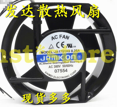 for JAMICON JA1751H3 Aluminum frame cooling fan 0.25A 380VAC 172*150*51mm 2wire