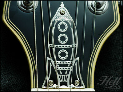 """""""ROCK-IT"""" Diecast Truss Rod Cover. Fits Epiphone Les Paul, SG and many more"""