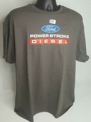 T-Shirt w/ Ford Power Stroke Diesel Logo / Emblem (Licensed, F250, F350)