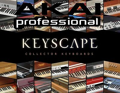 Akai MPC Expansion Pack of Spectrasonics Keyscape Keyboards 175+ patches.