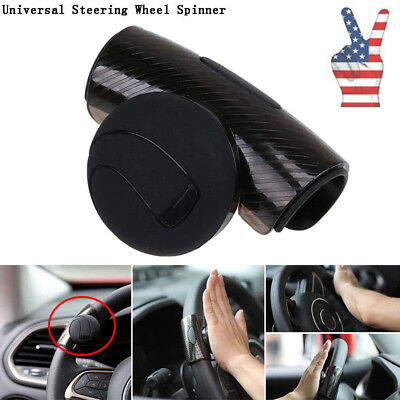 Sporting Car Truck Steering Wheel Aid Power Handle Assister Spinner Knob Ball Black Automobiles & Motorcycles