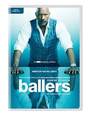 Ballers: Season 4 Dvd - The Complete Fourth Season - New Unopened