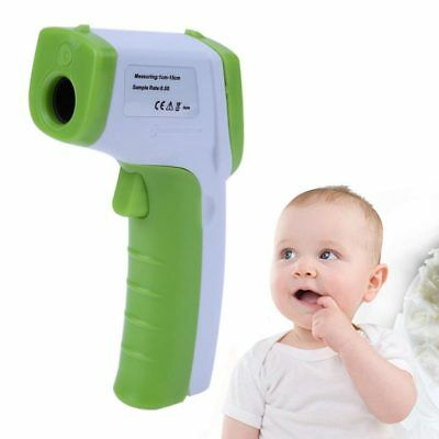 LCD Digital Non-contact IR Infrared Thermometer Forehead Body Temperature M S6P8
